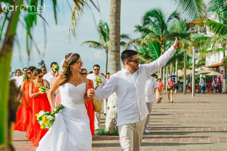 Araceli & Adam @ Oscar´s Puerto Vallarta, Mexico.,
