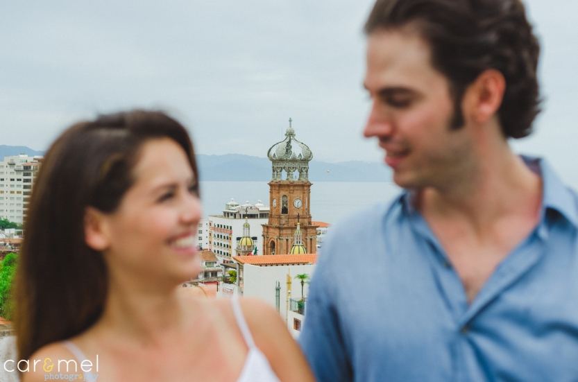Magali & Marcos Engagement´s session @ Downtown Vallarta