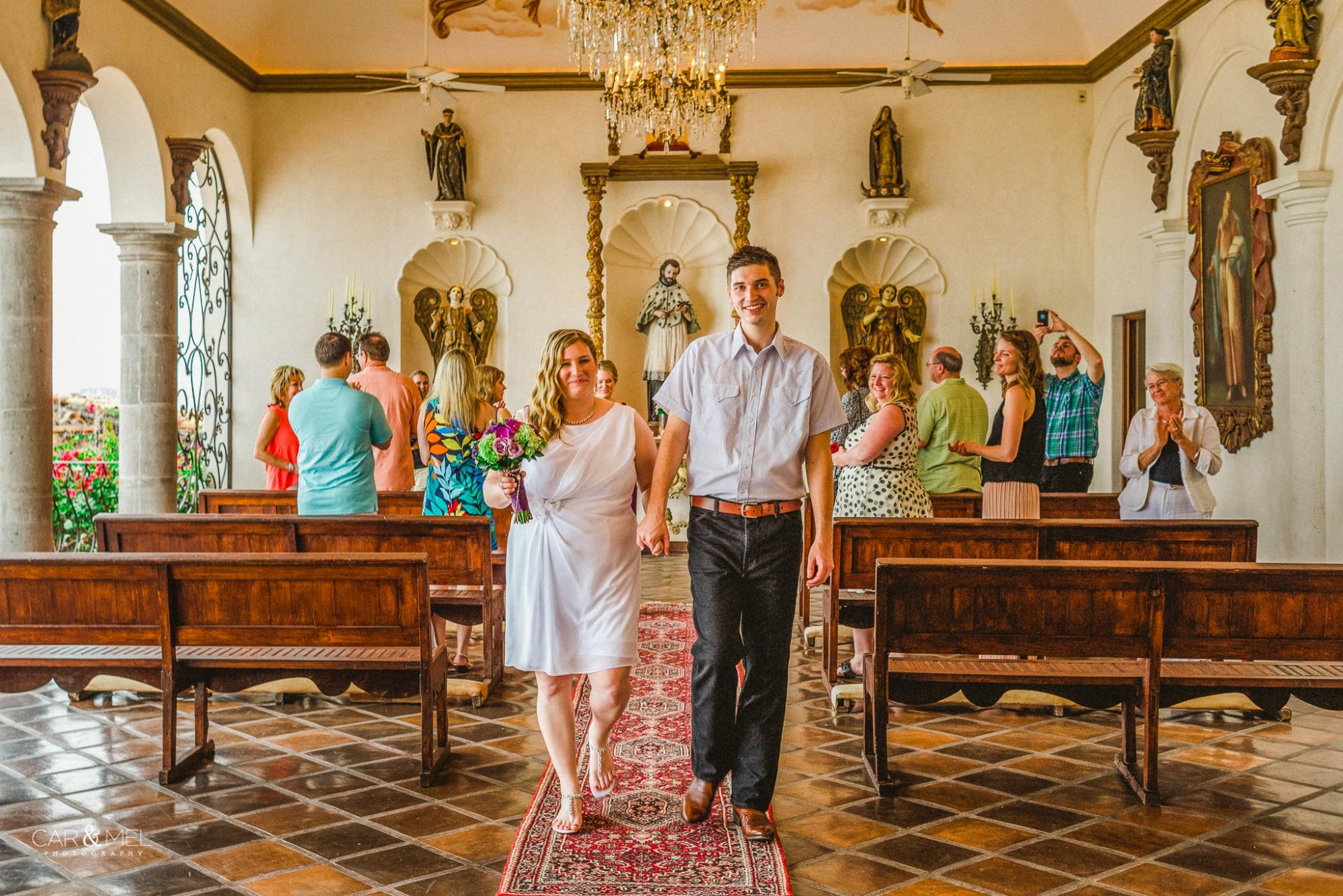 Cara & Sean @ Hacienda San Angel, Puerto Vallarta, México