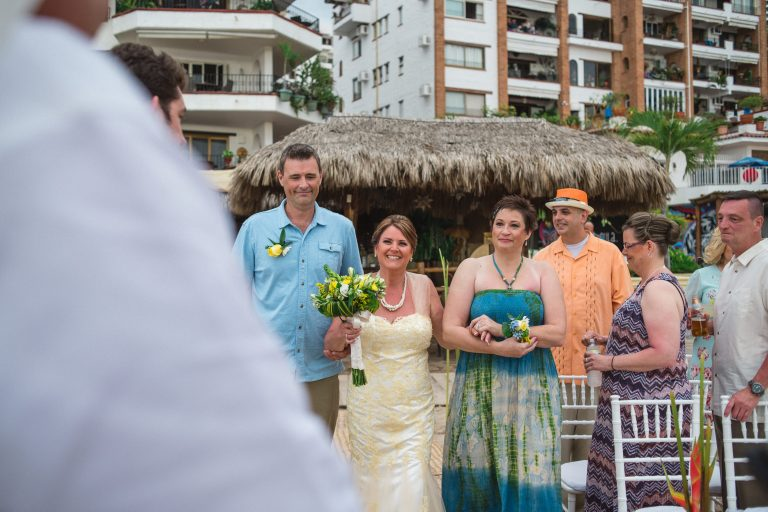 Beth & Brian @ La Palapa, Puerto Vallarta, Mexico