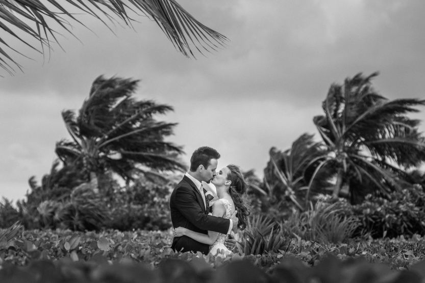 Maria & Greg's Trash the dress session. Cancún, México.