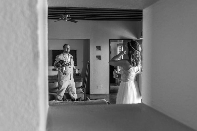 Allison & Scott at the Westin Resort, Puerto Vallarta, Mexico.