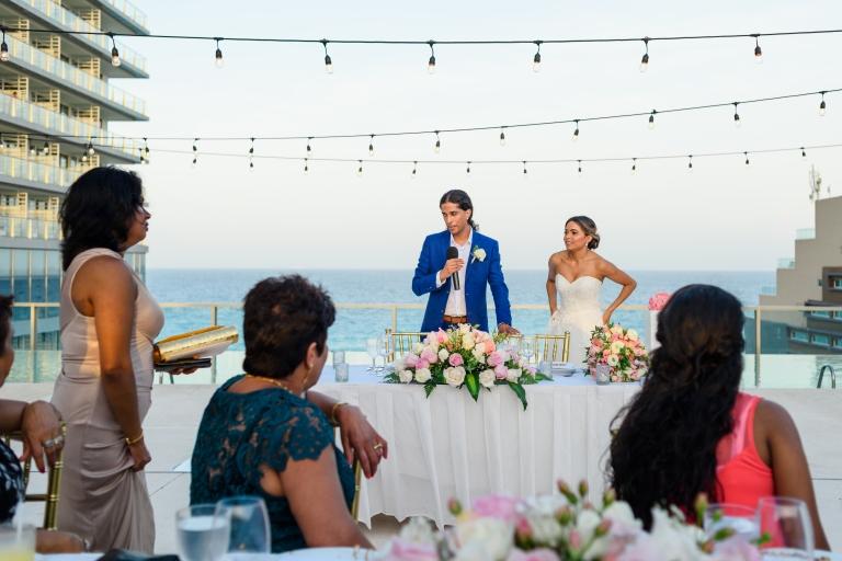 Natasha & Brandon at Secrets The Vine Resort, Cancún México51